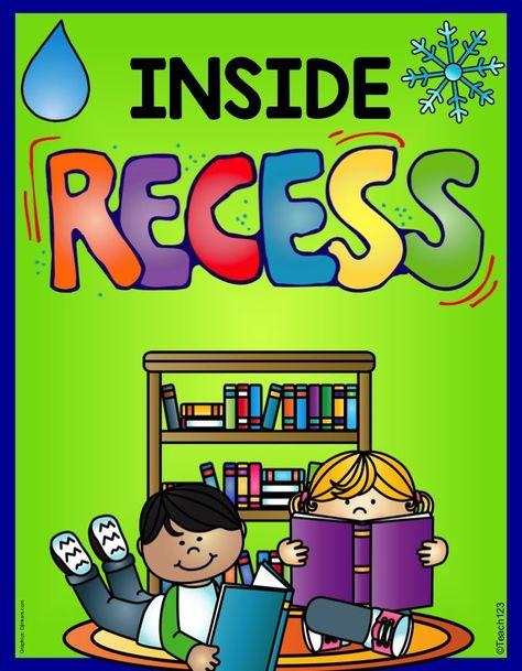 Grade 5/6s enjoy wet day recess.